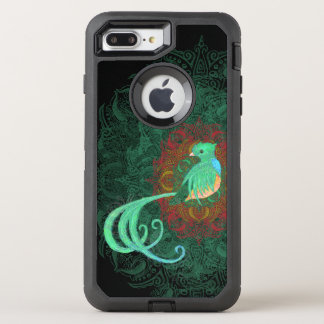 Gelocktes Quetzal OtterBox Defender iPhone 8 Plus/7 Plus Hülle