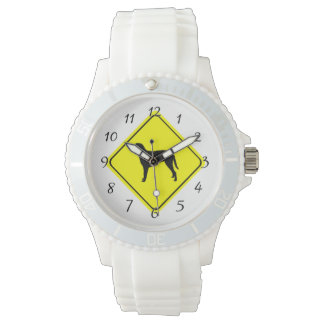 Gelocktes überzogenes armbanduhr