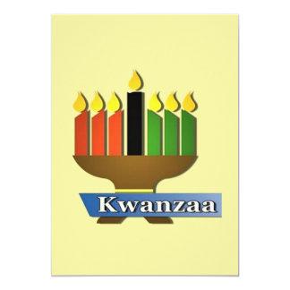 Gelukkig Kwanzaa Feiertags-Party Einladungen