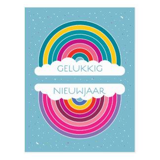 Gelukkig Nieuwjaar Postkarte