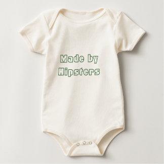 Gemacht durch Hipster-Bio einteiliges Baby Strampler