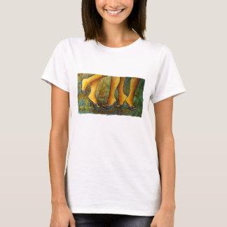 Gemacht für Walkin', Zahl Kunst-Shirts (+Farben) T-Shirt