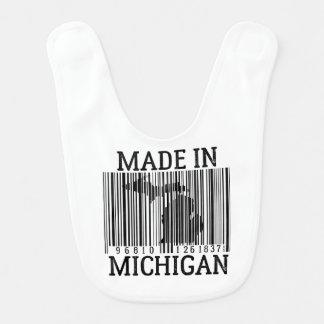 Gemacht im Detroit-Barcode-Baby-Schellfisch Babylätzchen