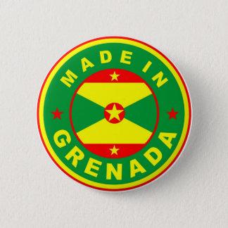 gemacht im Grenada-Landesflaggeproduktaufkleber Runder Button 5,1 Cm