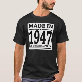 GEMACHT IM JAHRE 1947 ALLE VORLAGEN-TEILE T-Shirt