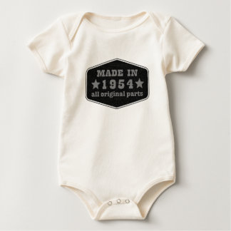 gemacht im Jahre 1954 alle Vorlage zerteilt Baby Strampler