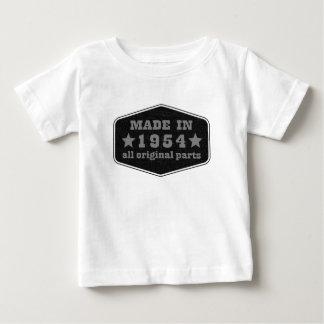 gemacht im Jahre 1954 alle Vorlage zerteilt Baby T-shirt