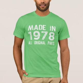 GEMACHT im Jahre 1978 alles URSPRÜNGLICHE T-Shirt