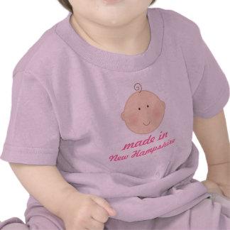 Gemacht im New Hampshire-Baby-oder Hemd