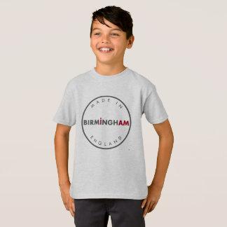 Gemacht im T - Shirt Birmingham-Jungen