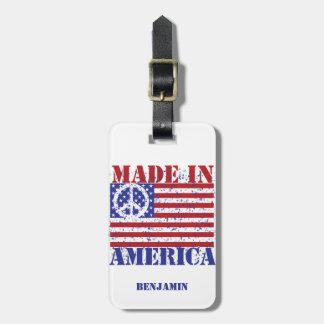 Gemacht in Amerika Gepäckanhänger