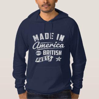 Gemacht in Amerika mit britischen Teilen Hoodie