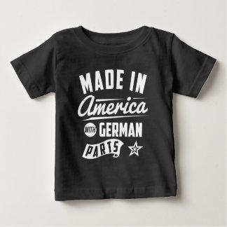 Gemacht in Amerika mit deutschen Teilen Baby T-shirt