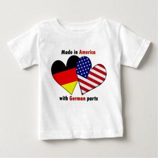 gemacht in Amerika mit deutschen Teilen Shirt