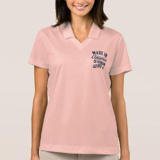 Gemacht in Amerika mit serbischen Teilen Polo Shirt