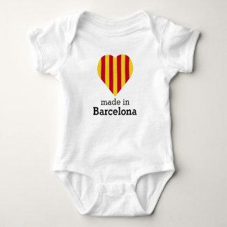 Gemacht in Barcelona, La Senyera Herzflagge Baby Strampler