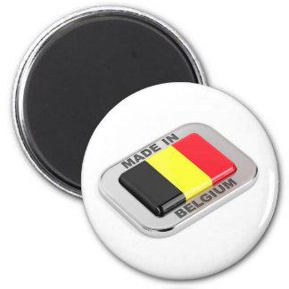 Gemacht in Belgien Runder Magnet 5,7 Cm