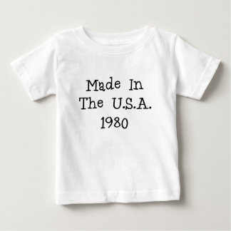 Gemacht in den USA 1980.png Baby T-shirt