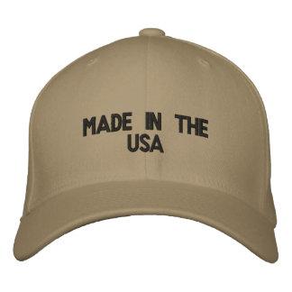 Gemacht in den USA Besticktes Cap