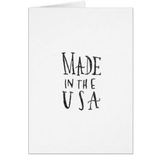 Gemacht in den USA Karte