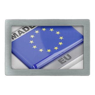 Gemacht in der europäischen Gewerkschaft Rechteckige Gürtelschnalle