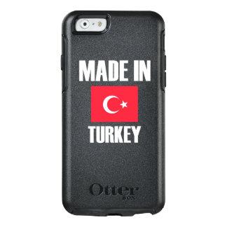 Gemacht in die Türkei-Flagge OtterBox iPhone 6/6s Hülle