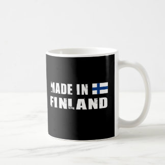 Gemacht in Finnland Kaffeetasse