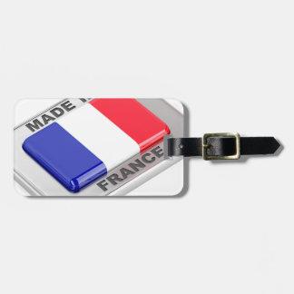 Gemacht in Frankreich Kofferanhänger