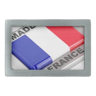 Gemacht in Frankreich Rechteckige Gürtelschnalle