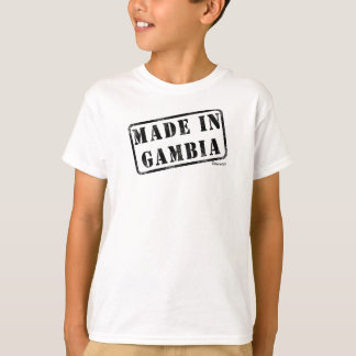Gemacht in Gambia T-Shirt