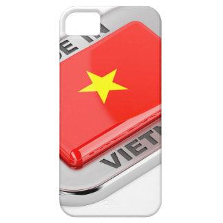 Gemacht in glänzendem Abzeichen Vietnams Etui Fürs iPhone 5