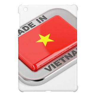 Gemacht in glänzendem Abzeichen Vietnams iPad Mini Hülle