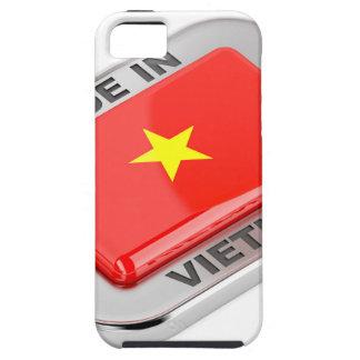 Gemacht in glänzendem Abzeichen Vietnams Tough iPhone 5 Hülle
