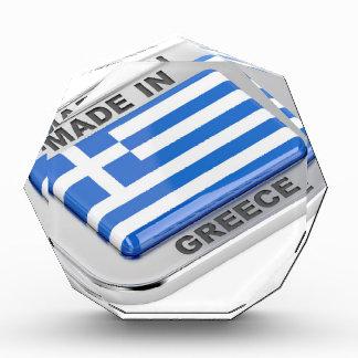 Gemacht in Griechenland-Abzeichen Auszeichnung