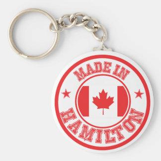 Gemacht in Hamilton Schlüsselanhänger