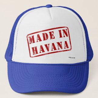 Gemacht in Havana Truckerkappe