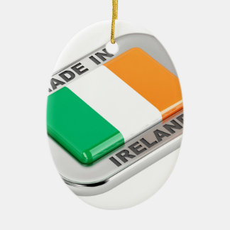 Gemacht in Irland Keramik Ornament