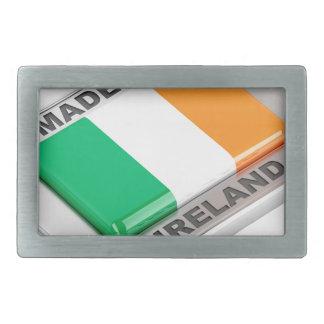 Gemacht in Irland Rechteckige Gürtelschnalle