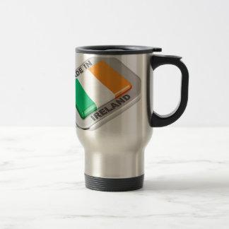Gemacht in Irland Reisebecher