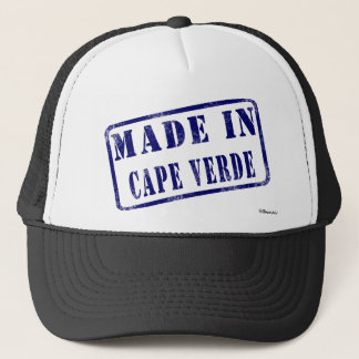 Gemacht in Kap-Verde Truckerkappe