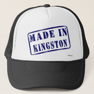 Gemacht in Kingston Truckerkappe