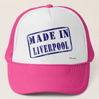 Gemacht in Liverpool Truckerkappe