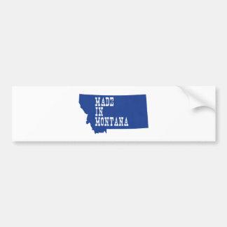 Gemacht in Montana Autoaufkleber