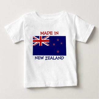 Gemacht in Neuseeland mit Neuseeland-Flagge Baby T-shirt