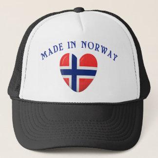 Gemacht in Norwegen mit Liebe Truckerkappe