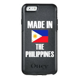 Gemacht in Philippinen-Flagge OtterBox iPhone 6/6s Hülle