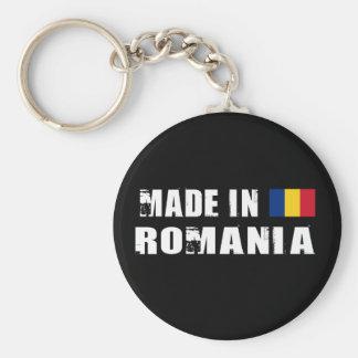 Gemacht in Rumänien Standard Runder Schlüsselanhänger