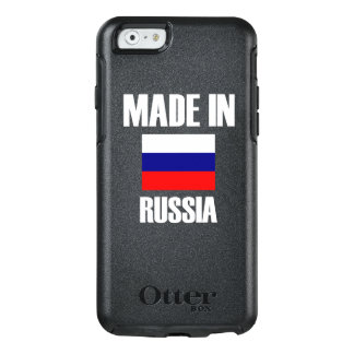Gemacht in Russland-Flagge OtterBox iPhone 6/6s Hülle