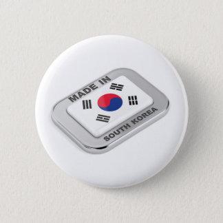Gemacht in Südkorea Runder Button 5,7 Cm