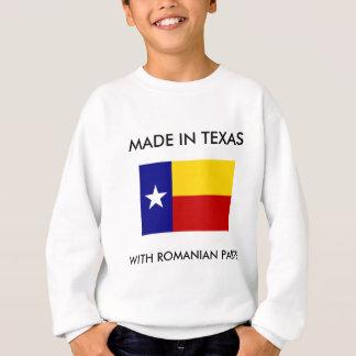 Gemacht in Texas mit rumänischen Teilen Sweatshirt